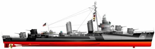 USS DD-613 Laub [Destroyer] (1944)