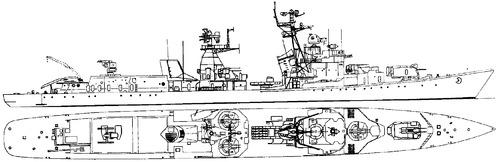 USSR Bravyy 1961 [Kotlin-class Destroyer]