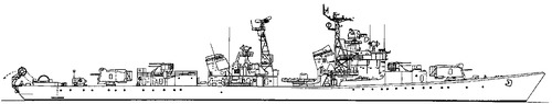 USSR Moskovskij Komsomolec 1978 [Kotlin-class Destroyer]