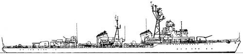 USSR Project 30bis Skoryy-class Destroyer