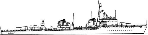 USSR Project 30K Ognevoy-class Destroyer