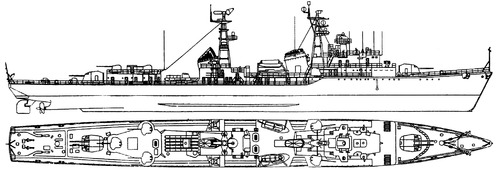 USSR Project 31 Mod. Skoryy-class [Destroyer]