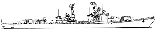 USSR Project 56 Spokoinyy Kotlin-class Destroyer