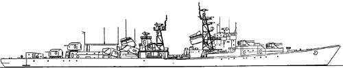 USSR Project 56E Bedovyy [Kildin-class Destroyer]