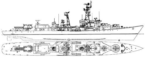 USSR Project 56E Neuderzhimmy 1960 [Kildin-class Destroyer]