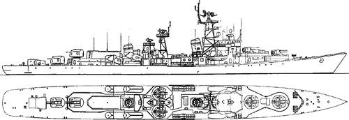 USSR Project 56E Neulovimmy [Kildin-class Destroyer]