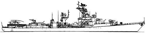 USSR Project 57A Gremjashny Kanin-class Destroyer