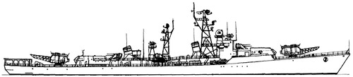 USSR Project 57bis Kanin -class Destroyer