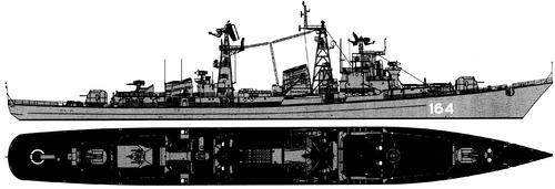 USSR Project 61E Provorny Kashin-class Destroyer
