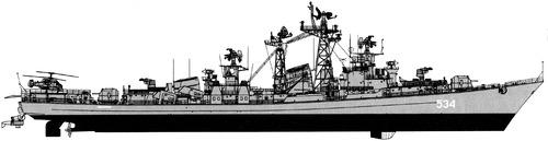 USSR Project 61M Sderzhanny Modified Kashin-class Destroyer