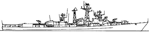 USSR Project 61ME Modified Kashin-class Destroyer
