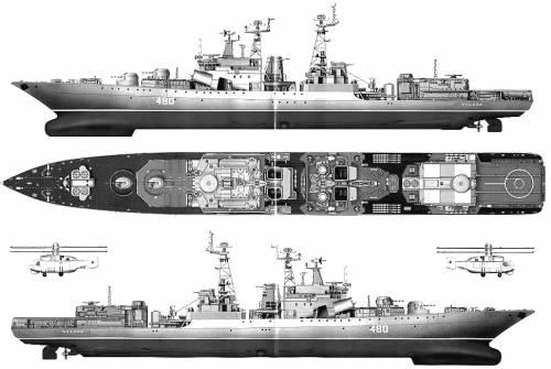 USSR Severomorisuku (Destroyer)