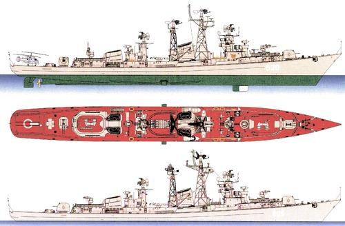 USSR Skory [Project 61 Kashin-class Destroyer]