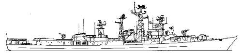 USSR Smetlivy (Project 61ME Kashin-class Destroyer)