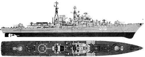 USSR Sovremenny (Destroyer)