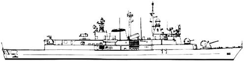 ARA La Argentina D11 [Destroyer]