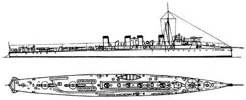 Burny 1902 (Destroyer)