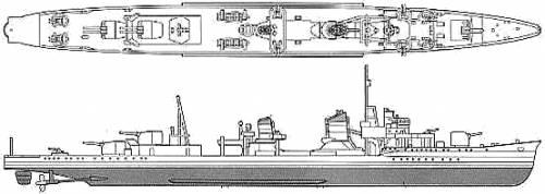 China Tan Yang (IJN Yukikaze) (Destroyer)