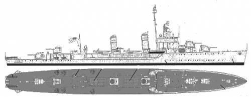 DD 436 Monsen