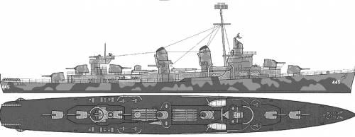 DD 445 Fletcher