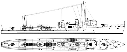 HDMS Dragen 1936 (Destroyer)