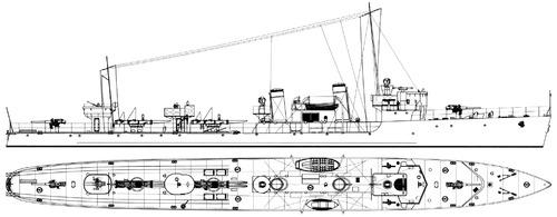 HDMS Glenten 1936 (Destroyer)