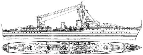 HMAS Arunta 1942 [Destroyer]