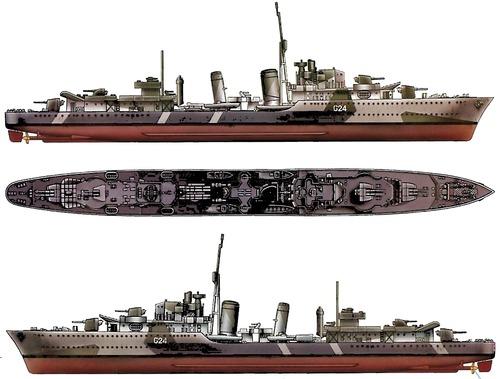 HMCS Huron 1944 (Destroyer)