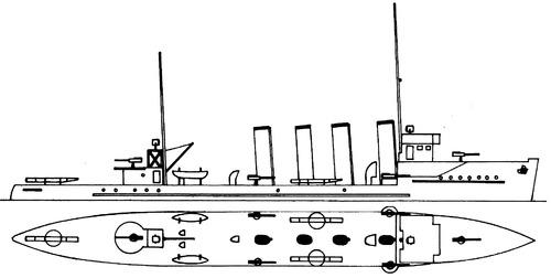 HNoMS Draug 1914 [Destroyer]