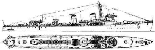 HSwMS Goteborg 1936 [Destroyer]