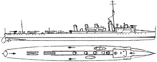 HSwMS Hugin 1912 (Destroyer)