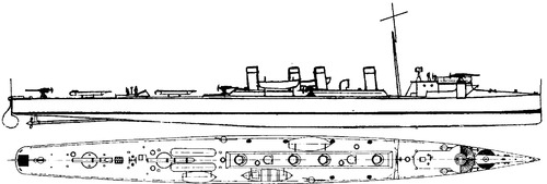HSwMS Mode 1904 (Destroyer)
