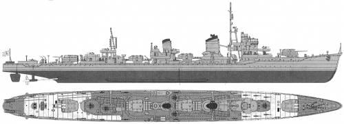IHN Yukikaze (Destroyer) (1945)
