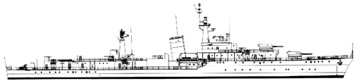 IIS Artemiz [Ex HMS Sluys Destroyer]
