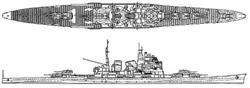 IJN Choukai (Cruiser) (1942)