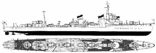 IJN Fubuki (Destroyer)