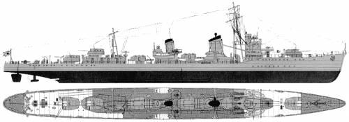 IJN Isokaze (Destroyer) (1943)