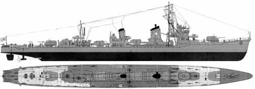 IJN Isokaze (Destroyer) (1945)