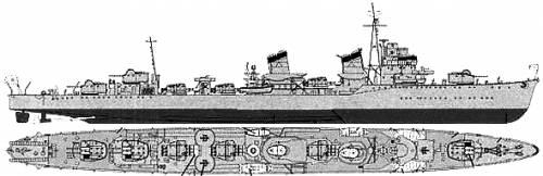 IJN Shikinami (Destroyer) (1944)
