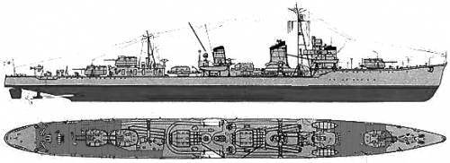 IJN Shirakumo (Destroyer)