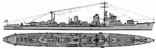 IJN Yukikaze (Destroyer) (1945)