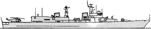 INS Delhi D61 (Destroyer) India
