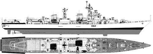 INS Mumbai D62 [Destroyer] India