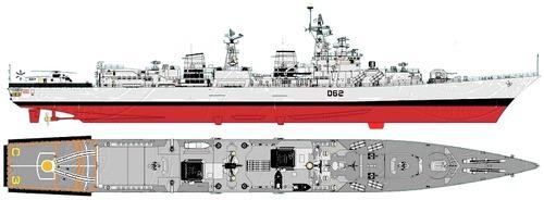 INS Mumbai D62 [Destroyer] India