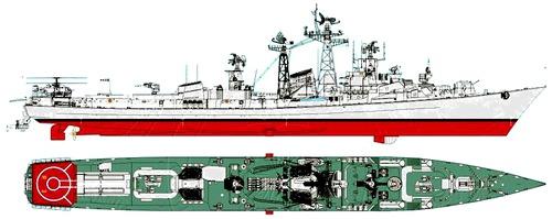 INS Ranjit D53 (Destroyer) India