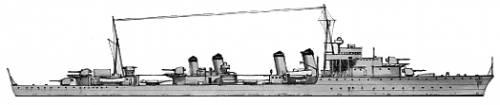 MNF Chevalier Paul (Destroyer) (1944)