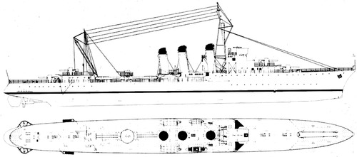 NMF Cyclone 1926 (Destroyer)