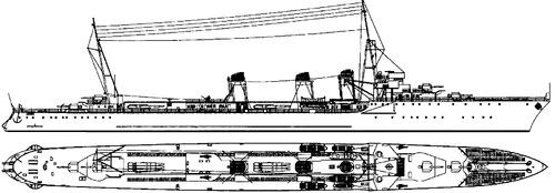 NMF Jaguar 1940 (Destroyer)