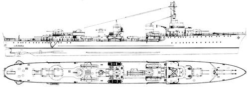 NMF Le Hardi 1940 [Destroyer]