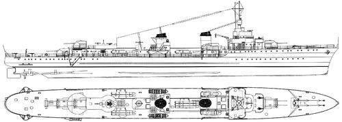 NMF Le Hardi 1941 [Destroyer]